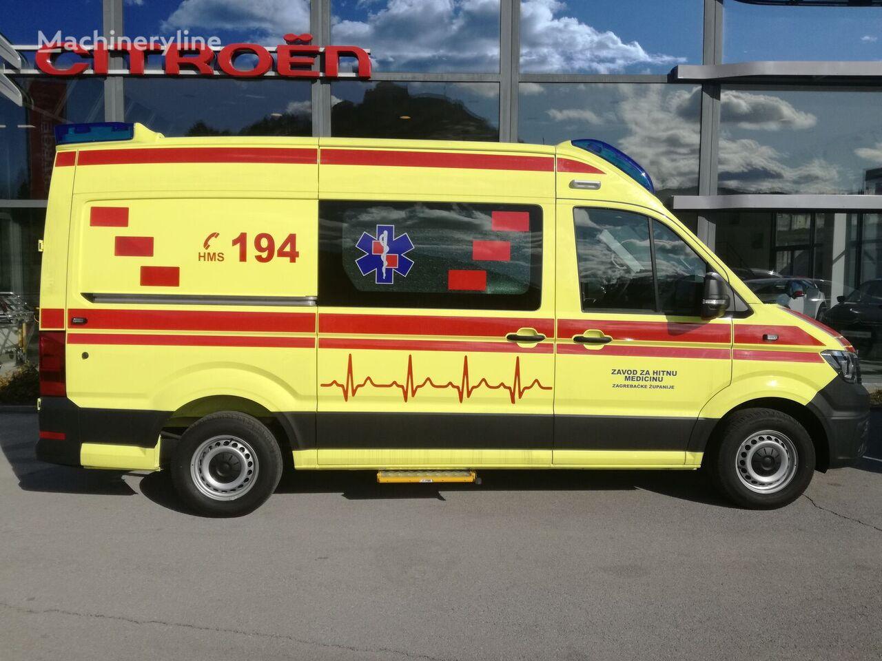 nový sanitka VOLKSWAGEN Crafter L3H2