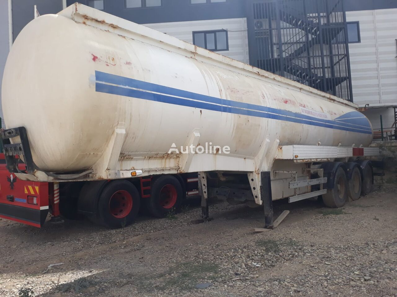 cisterna PHM USED TANKER TRAILERS 33.000 lt / 7 compartment
