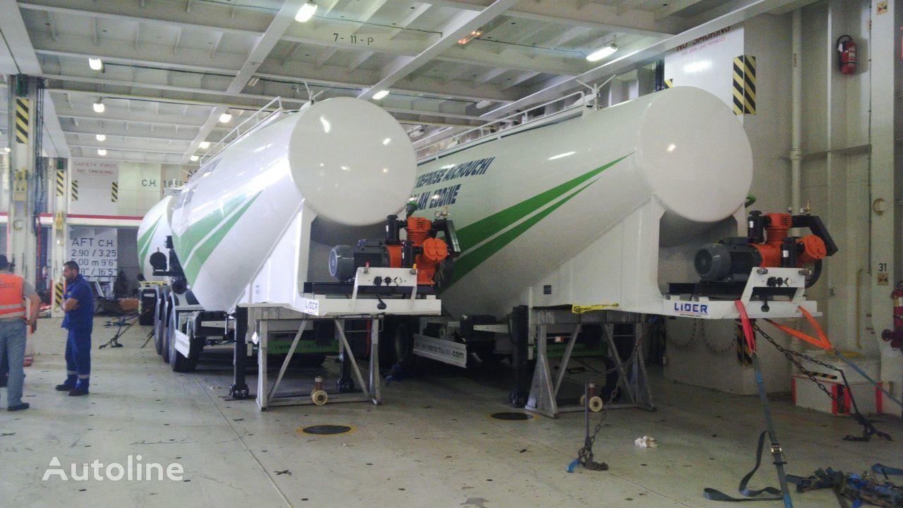 nový cisterna na cement LIDER 2018 MODELS YEAR (MANUFACTURER COMPANY LIDER TRAILER & TANKER )