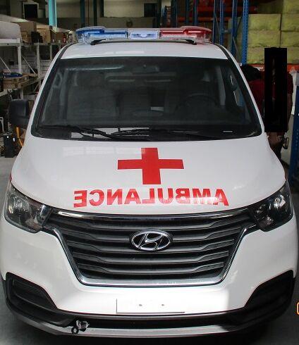nový sanitka HYUNDAI H1 Petrol