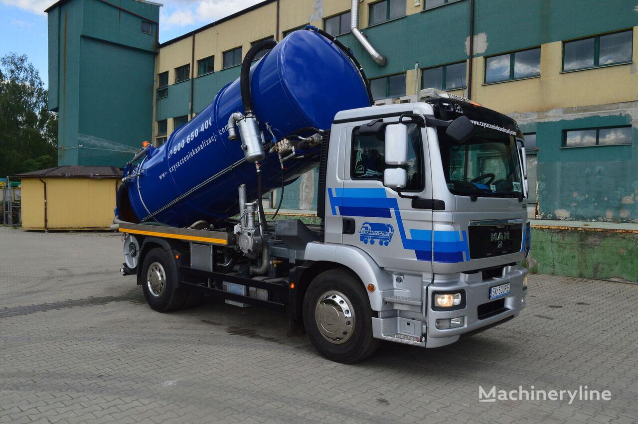 fekálne vozidlo MAN TGM 18.290 KOMBI aufbau 2020 EURO5 12,5m