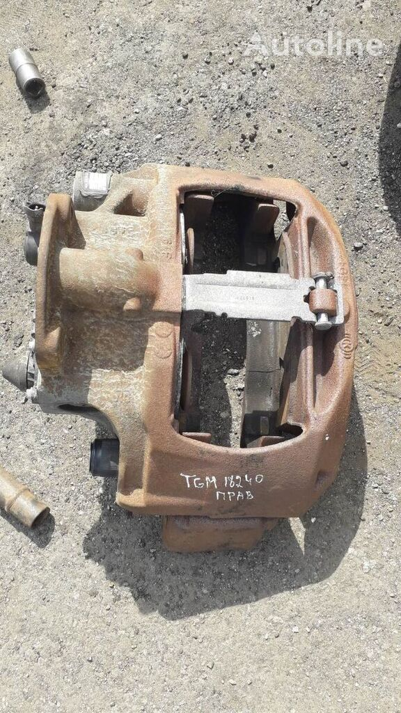 brzdový strmeň MAN peredniy zadniy b.u na nákladného auta MAN TGA TGM TGX TGS TGL M2000 L2000 F2000 ME LE