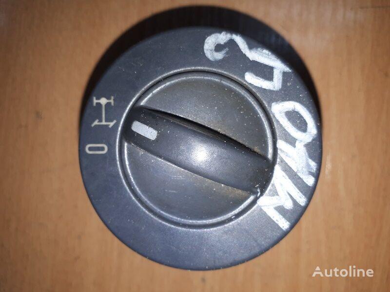 prístrojová doska MAN na nákladného auta MAN TGA (2000-2008)