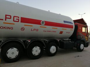 autocisterna na prepravu plynu MAN TOP SYSTEM NEW BUILDED 32000L And 24000L LPG Bobtail LAST ONE IN