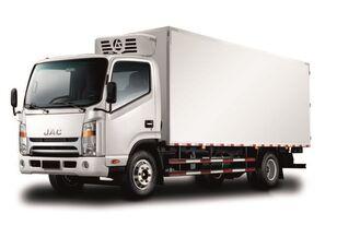 nové chladiarenské auto JAC Изотермический фургон с ХОУ JAC N 80