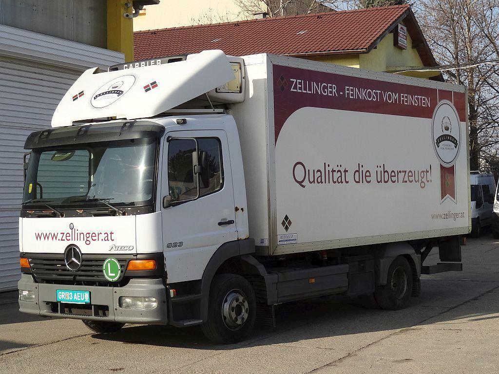 chladiarenské auto MERCEDES-BENZ Atego 923