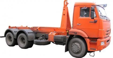 nový hákový nosič kontajnerov KAMAZ KO-452-13