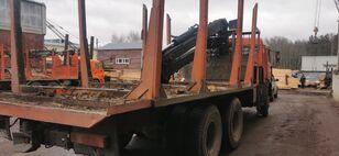 nákladné auto na prepravu dreva KAMAZ Манипулятор