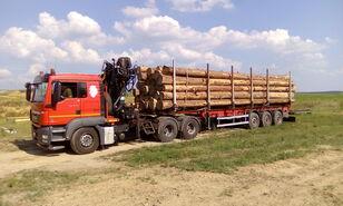 nákladné auto na prepravu dreva MAN TGS 26.480 6x4 BB