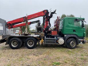 nákladné auto na prepravu dreva SCANIA R500 V8 6x4 Euro5 EPSILON 300