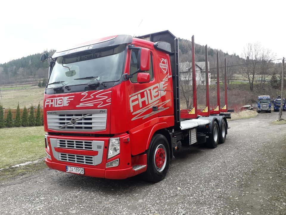 nákladné auto na prepravu dreva VOLVO FH13 500ps Euro5 6x4