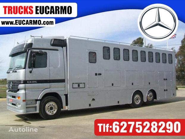 nákladné auto na prepravu koní MAN ACTROS 25 43