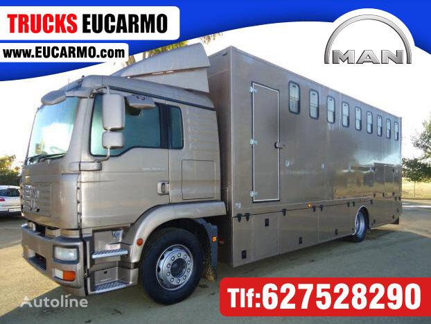 nákladné auto na prepravu koní MAN TGS 18 280