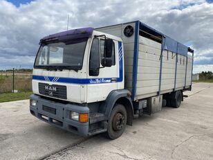 nákladné auto na prepravu zvierat MAN 14.224 4x2 Animal transport