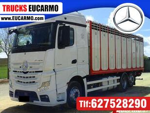 nákladné auto na prepravu zvierat MERCEDES-BENZ ACTROS 25 45