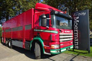 nákladné auto na prepravu zvierat SCANIA P 124G 420 6x2*4