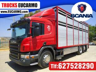 nákladné auto na prepravu zvierat SCANIA P 380