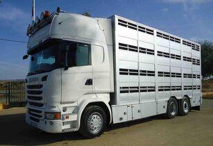 nákladné auto na prepravu zvierat SCANIA R 490