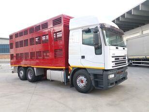 nákladné auto na prepravu zvierat IVECO 240E48 CURSOR ANIMALI VIVI