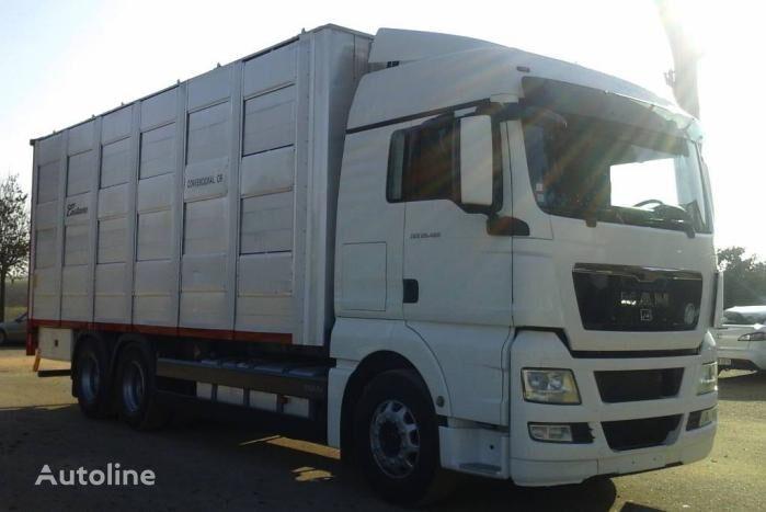 nákladné auto na prepravu zvierat MAN TGX 28 480