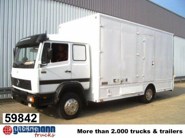 nákladné auto na prepravu zvierat MERCEDES-BENZ L / 1117 / NSW