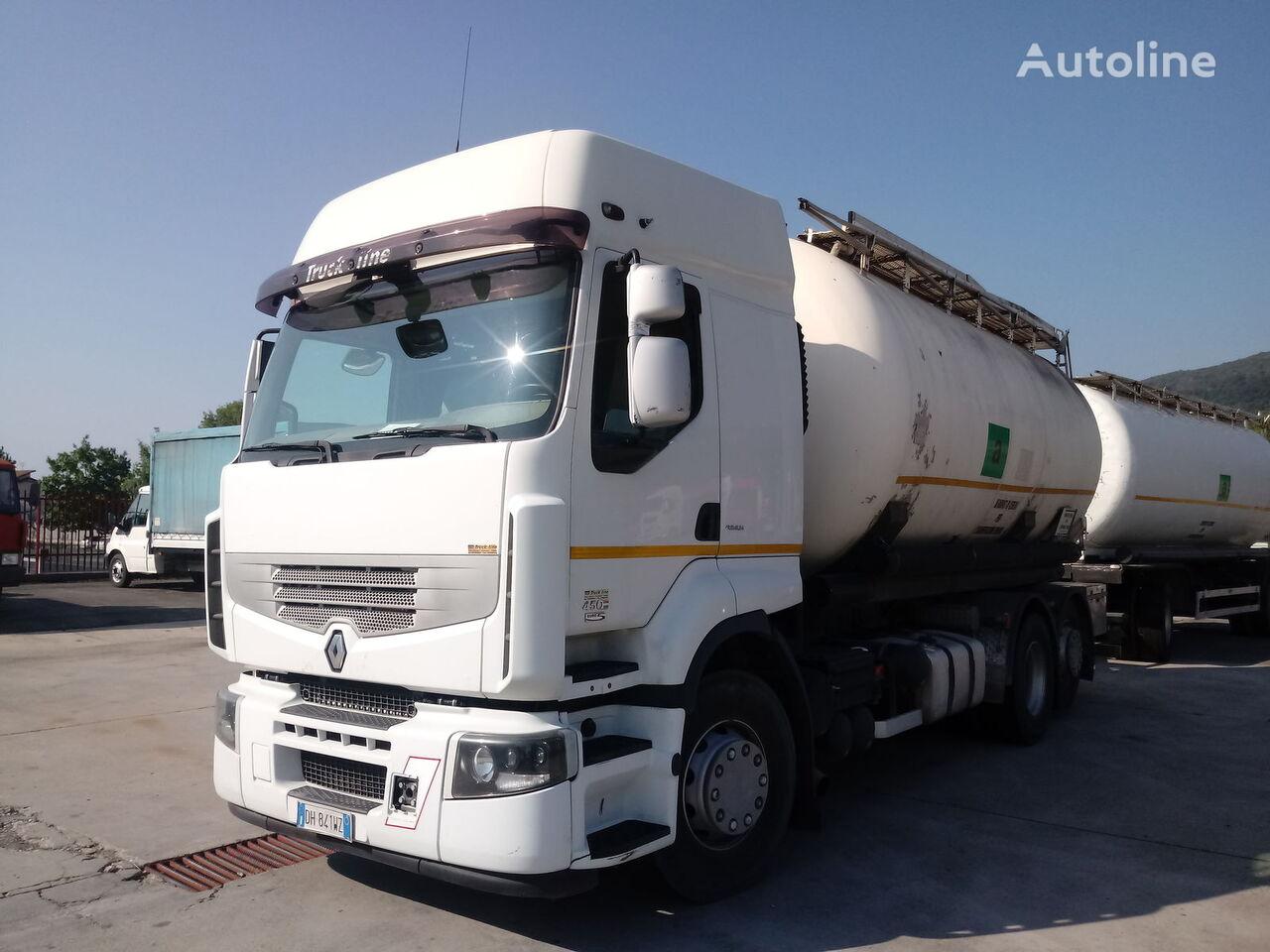 nákladné auto na prevoz múky RENAULT PREMIUM 450 DXI