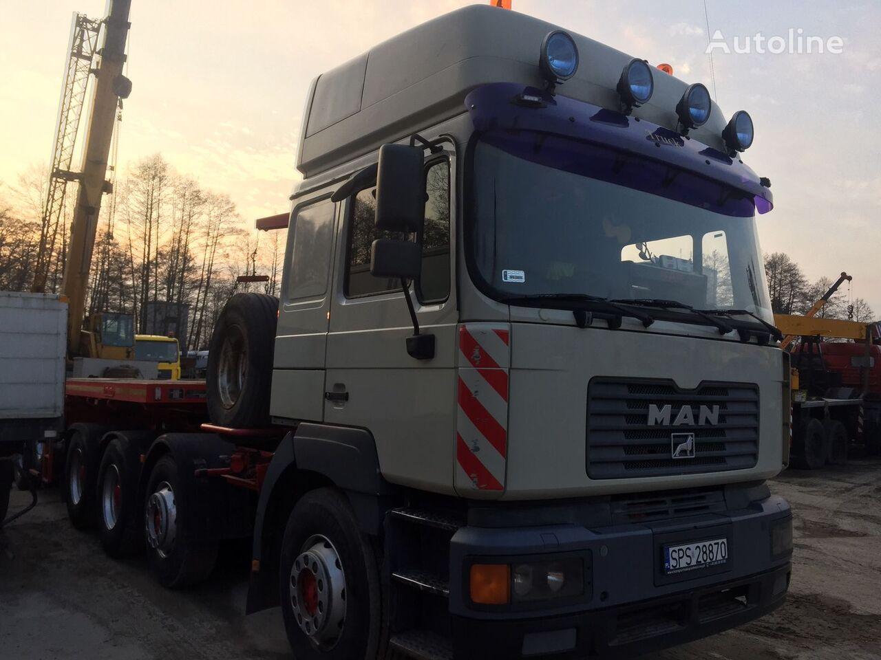 nákladné auto platforma MAN E75