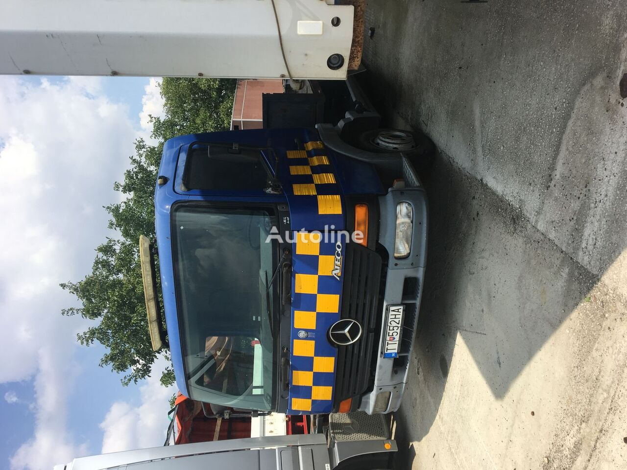 nákladné auto platforma MERCEDES-BENZ Atego 815