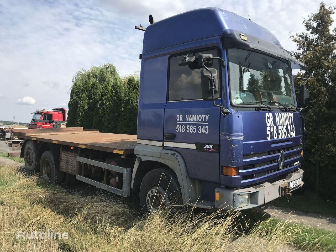nákladné auto platforma RENAULT Major