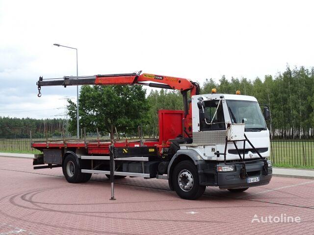 nákladné auto platforma RENAULT PREMIUM HATTY 320 DCI