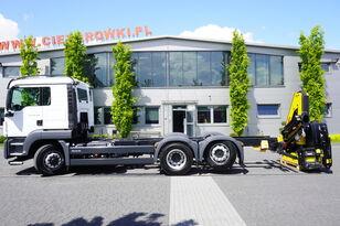 nákladné auto podvozok MAN TGS 26.400 , HYDRODRIVE , 6x6x4 , NEW , UNUSED , NEW CRANE