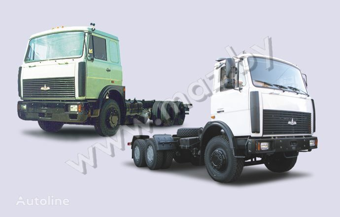 nákladné auto podvozok MAZ 6303