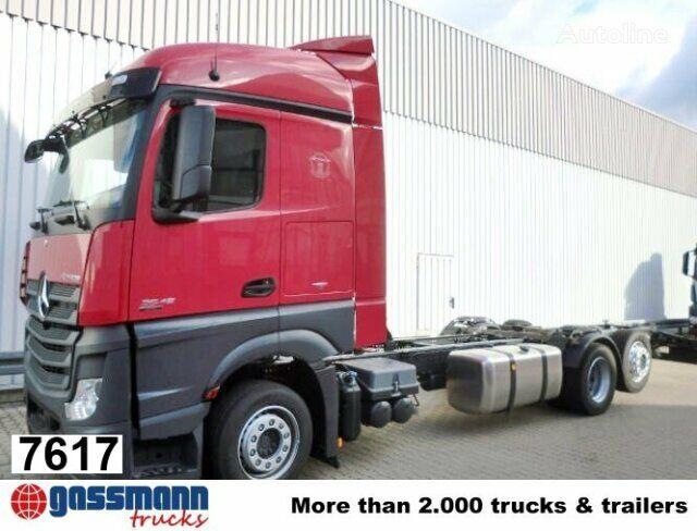 nový nákladné auto podvozok MERCEDES-BENZ Actros / 2545 L / Standheizung/Sitzhzg
