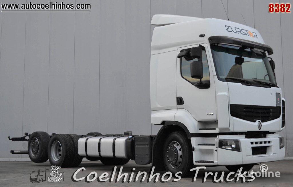 nákladné auto podvozok RENAULT Premium 430DXi