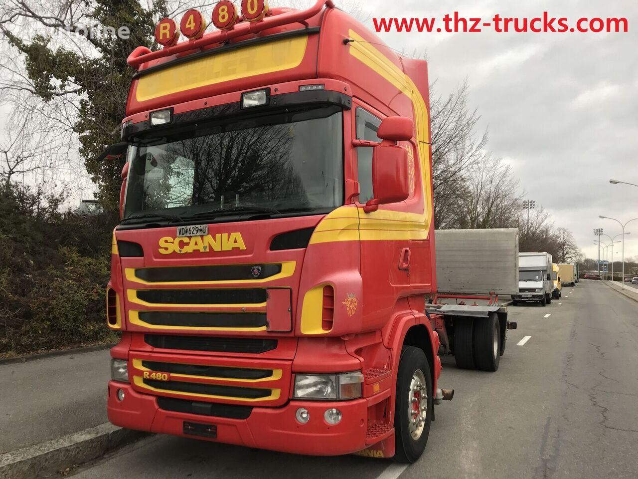 nákladné auto podvozok SCANIA R480