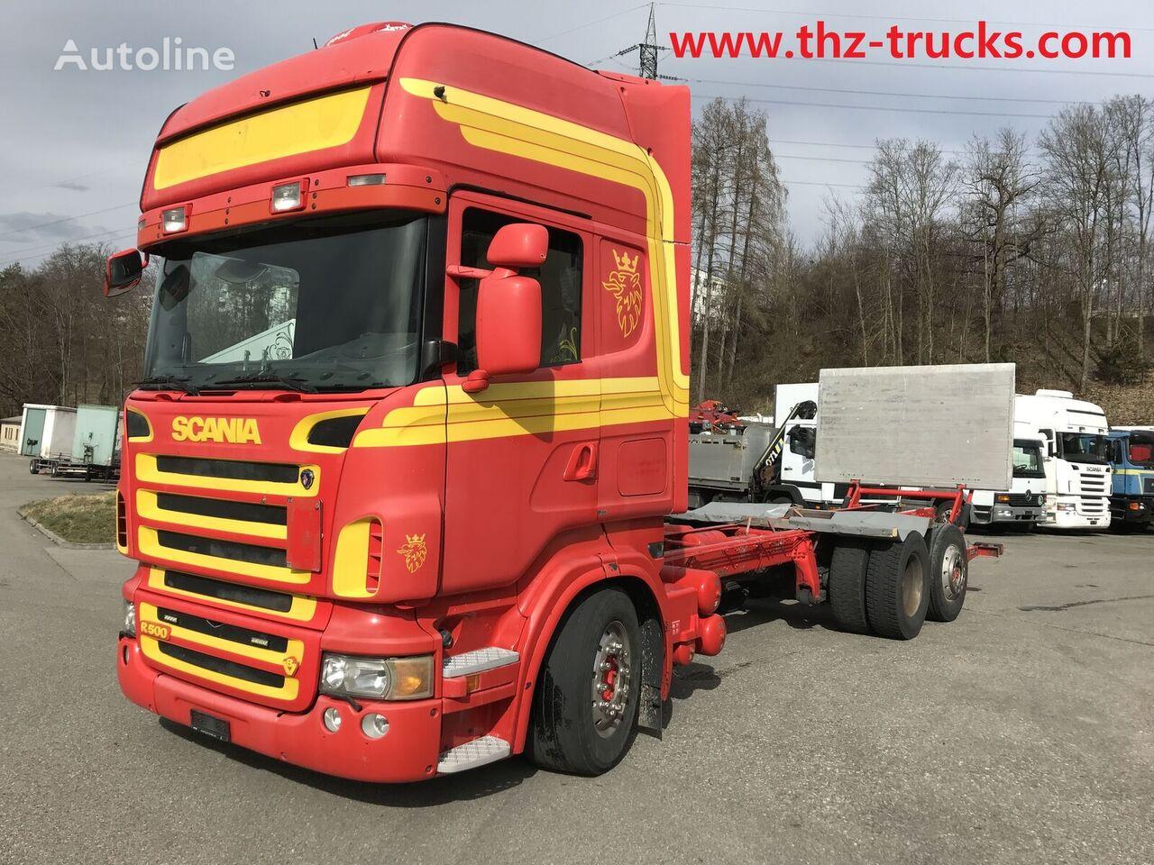 nákladné auto podvozok SCANIA R500 LB