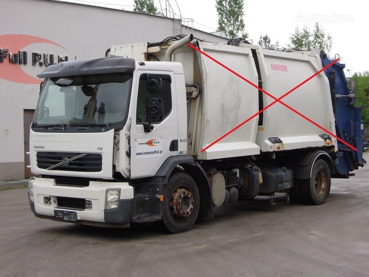 nákladné auto podvozok VOLVO FE 240 podwozie rama do zabudowy 5 metrów