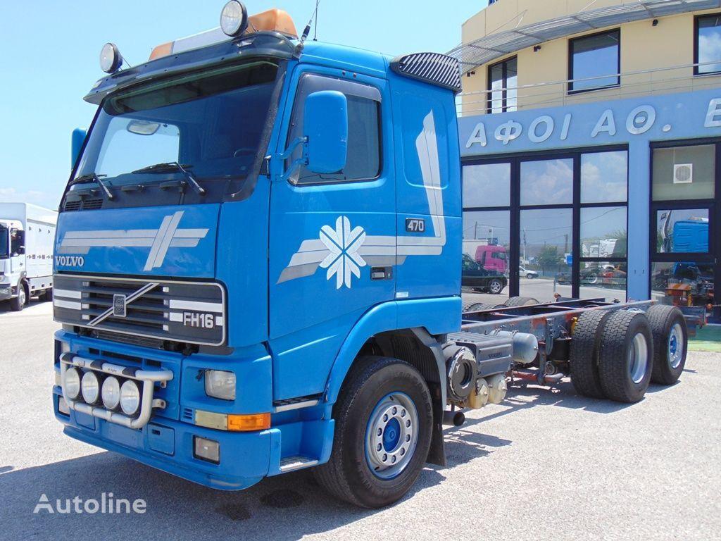nákladné auto podvozok VOLVO FH 16 520-470