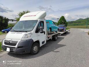 nákladné vozidlo na prepravu automobilov CITROEN Jumper winch ramp + príves na prepravu automobilov