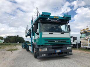 nákladné vozidlo na prepravu automobilov IVECO EUROTECH  bisarca veicoli + biga Rolfo