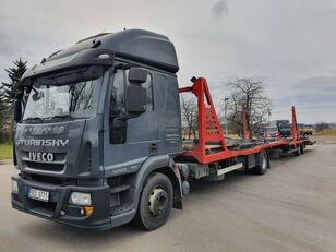 nákladné vozidlo na prepravu automobilov IVECO Eurocargo 140E28 + príves na prepravu automobilov