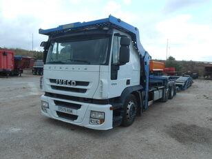 nákladné vozidlo na prepravu automobilov IVECO Stralis AS190S45