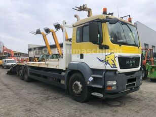 nákladné vozidlo na prepravu automobilov MAN TGS 26.360 6x2 Járműszállító Csörlővel és Rámpával