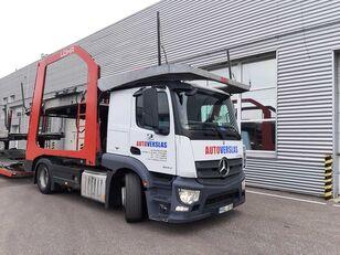 nákladné vozidlo na prepravu automobilov MERCEDES-BENZ ACTROS + príves na prepravu automobilov