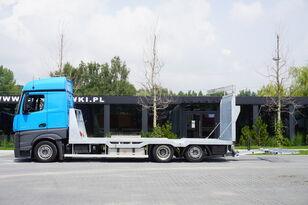 nákladné vozidlo na prepravu automobilov MERCEDES-BENZ Actros 2542 , E6 , MEGA , NEW BODY , car tow 10T , hydraulic ram