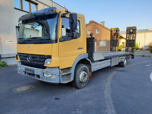nákladné vozidlo na prepravu automobilov MERCEDES-BENZ Atego 1623 Járműszállító csörlővel és hidrorámpával