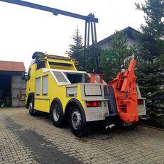 nákladné vozidlo na prepravu automobilov VOLVO fh 12 holownik towing truck