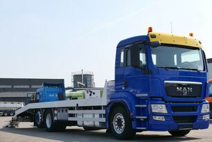 nákladné vozidlo na prepravu automobilov MAN TGS 26.400 6x2 Csörlővel és rámpával
