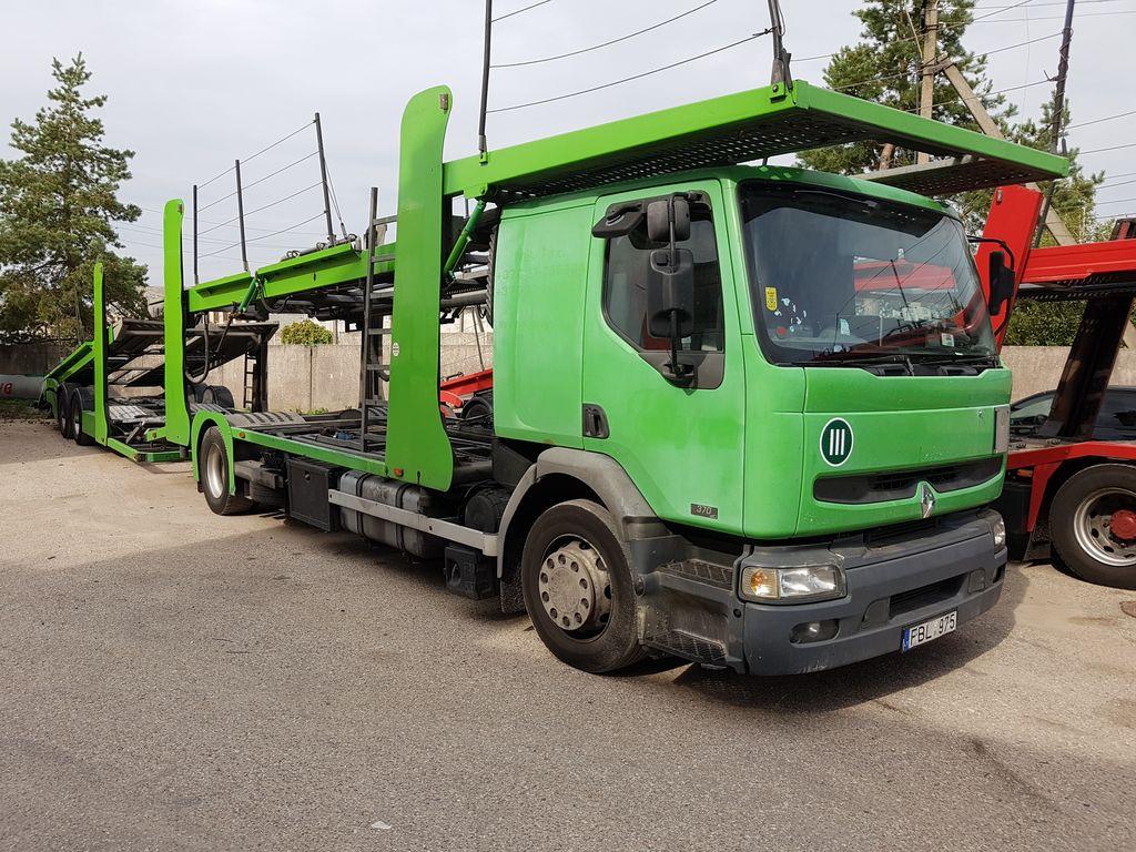 nákladné vozidlo na prepravu automobilov RENAULT Premium
