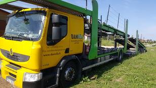 nákladné vozidlo na prepravu automobilov RENAULT Premium 370.18 Euro5 !!! + príves na prepravu automobilov